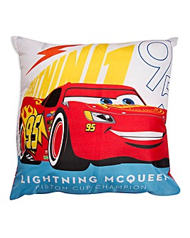 Cars Lightning McQueen Square Cushion
