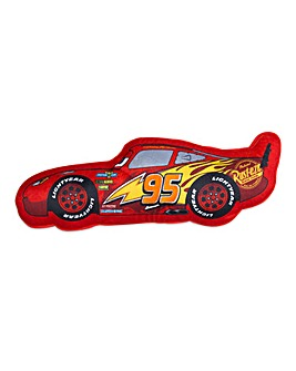 Cars Lightning McQueen Shaped Cushion