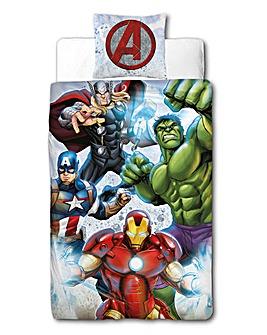 Marvel Avengers Strike Panel Duvet