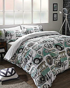 VW Classic Details Duvet Cover Set