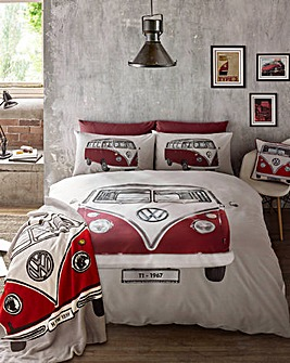 VW On Tour Duvet Cover Set
