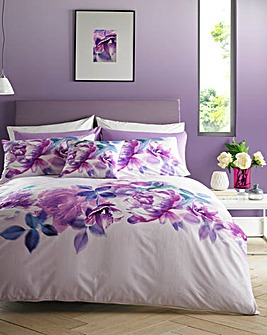 Lipsy Translucent Bloom Duvet Cover Set