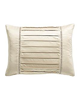 Diamante Pleats Boudoir Cushion