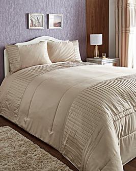Diamante Pleats Bedspread