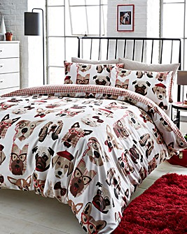Dapper Dogs Duvet Cover Set
