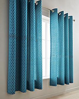 Boston Eyelet Lined Curtains