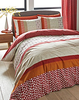 Boston Duvet Cover Set Spice
