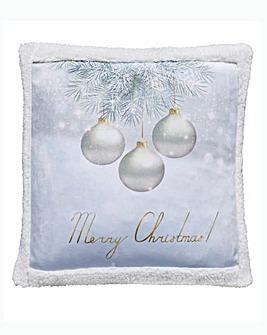Christmas Greetings Cushion Cover