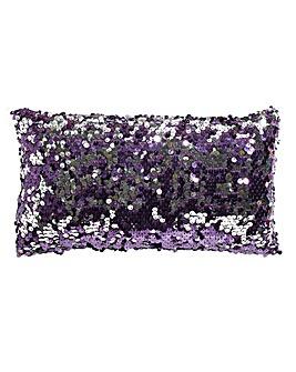 Dazzle Amethyst Boudior Filled Cushion