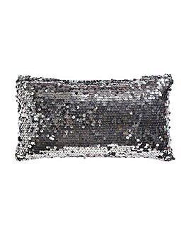 Dazzle Charcoal Pettit Filled Cushion