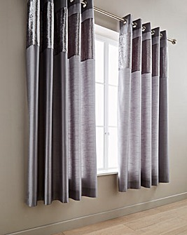Boulevard Velvet Dove Grey Curtains