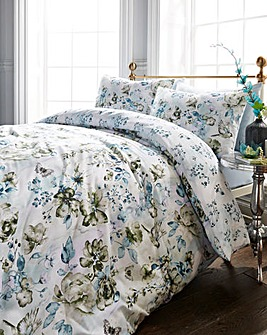 Raine Blue Duvet Cover Set