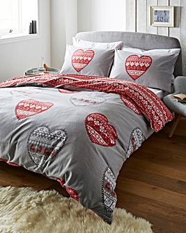 Boden Heart Duvet Cover Set