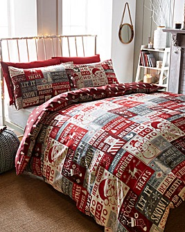 Ho ho Ho Duvet Cover Set