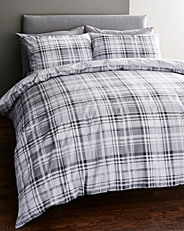 Chandler Grey Duvet Cover Set