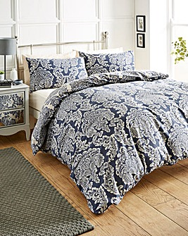 Chatsworth Navy Duvet Cover Set