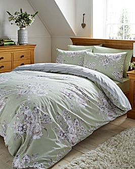 Neve Duvet Green Cover Set