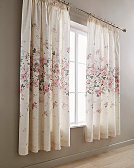 June Lined Pencil Pleat Curtains