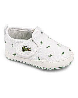 Lacoste Gazon Crib Shoes