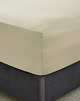 300 Cotton Extra Deep Fitted Sheet