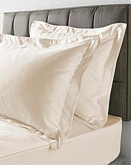 300 Cotton Sateen Oxford Pillowcases