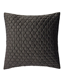 Luxury Textured Velvet Quilted Cushion