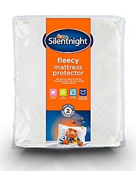 Silentnight Fleecy Mattress Protector