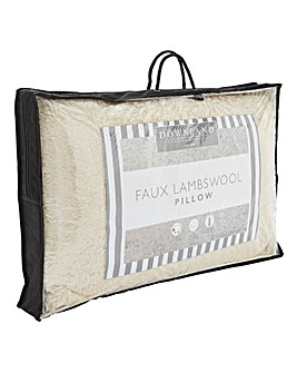 Fluffy Faux Lambswool Pillow