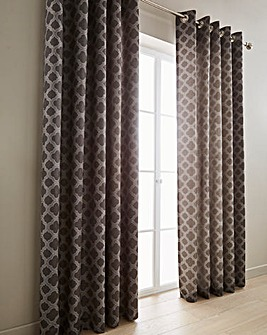 Denby Lined Eyelet Curtains