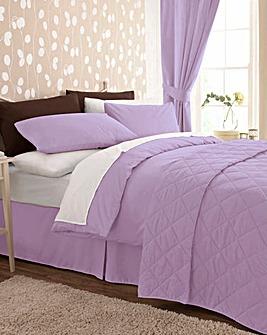 Easy-Care Plain-Dyed Duvet Cover