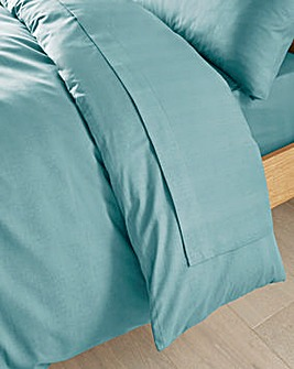 Easy-Care Plain-Dyed Flat Sheet