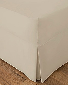 Easy-Care Plain Fitted Valance Sheet