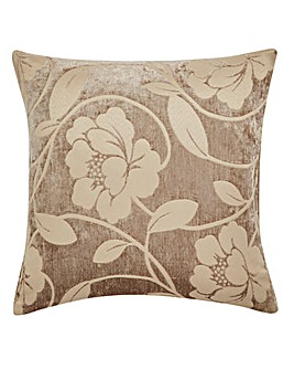 Charley Luxury Floral Chenille Cushion
