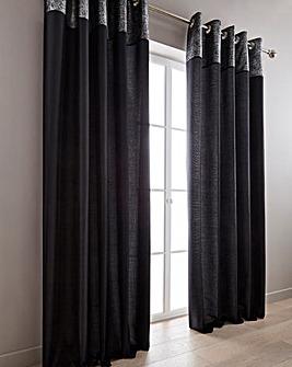 Morgan Metallic Top Border Curtains