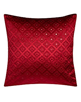 Alto Cut Velvet Cushion