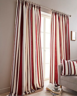 Hampton Printed Stripe Curtain