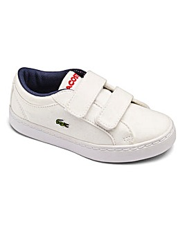 Lacoste Straightset Infant Trainers