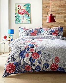 Keiko 100% Cotton Duvet Cover Set