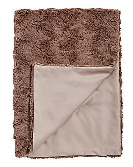 Faux Fur Throw 150 x 200cm