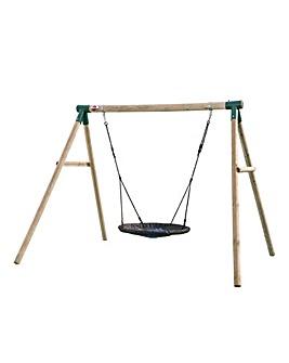 Plum Spider Monkey 2 Wooden Garden Swing