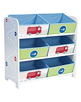 Boys Vehicle Toy Storage