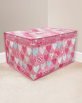 Hearts Large Storage Chest