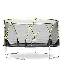Plum 14ft Whirlwind Trampoline with 3G