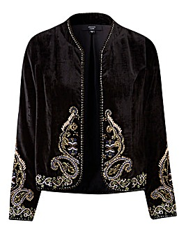 Joanna Hope Velvet Jacket
