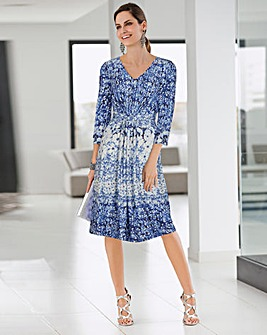Together Print Dress