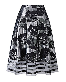Joanna Hope Jacqurd Prom Skirt