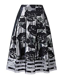 Joanna Hope Jacqurd Prom Skirt