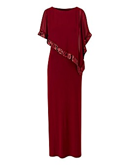 Joanna Hope Overlay Maxi Dress
