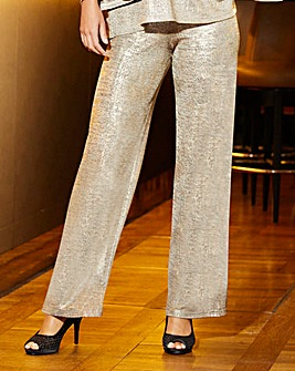 Joanna Hope Foil Wide Leg Trousers
