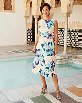 Joanna Hope Print Prom Dress